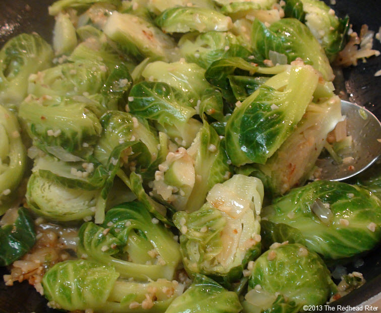 Brussel Sprouts With Drizzled Balsamic Glaze 11