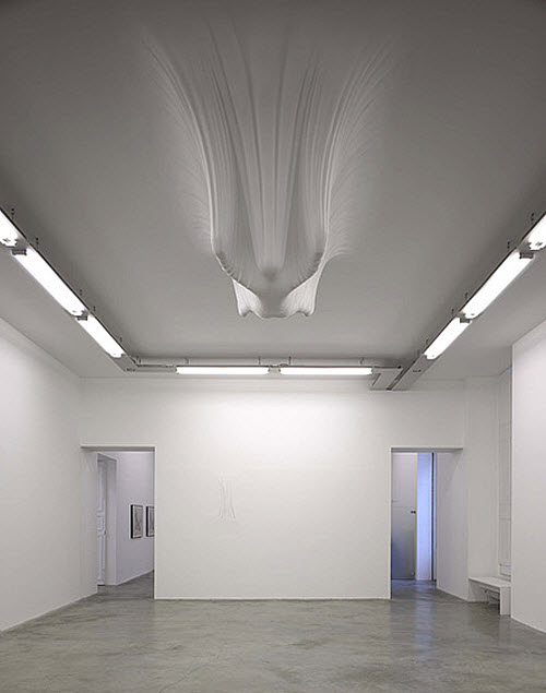 Daniel Arsham, Like A Sheet ceiling