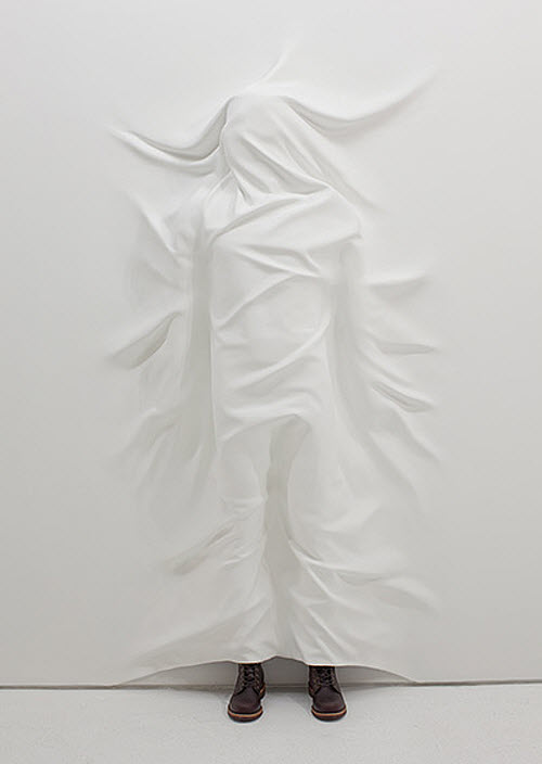 Daniel Arsham, Like A Sheet man