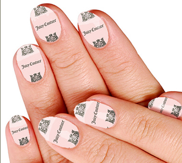fingernail humor art juicy couture