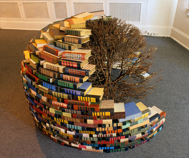 Artist Brent Crothers book dome small