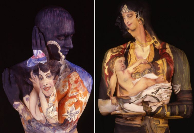 Chadwick & Spector's Museum Anatomy Paintings, Body Art 5