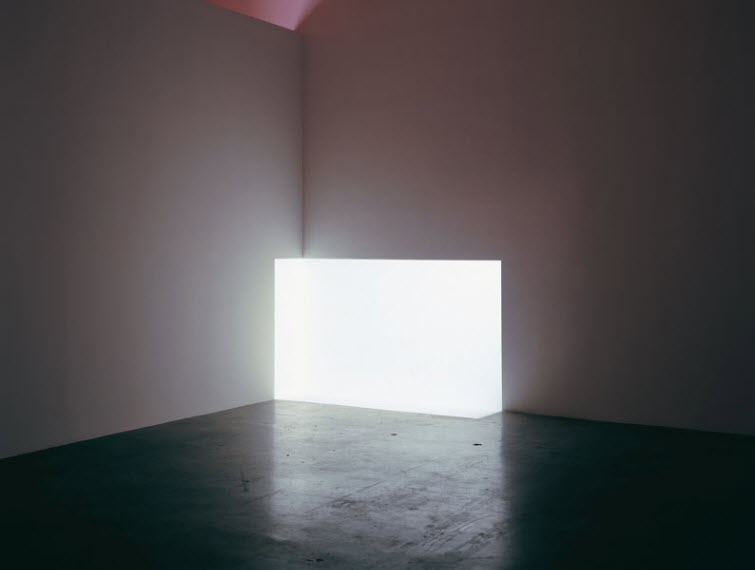 James Turrell light art Carn White