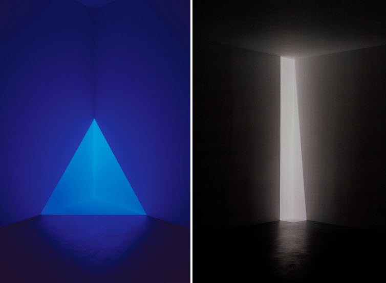 James Turrell light art Gard Blue and Enzu