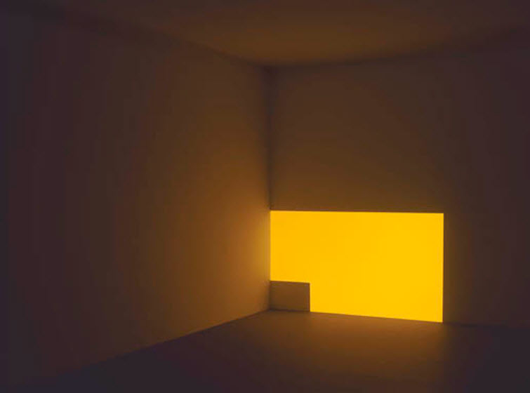 James Turrell light art Porter Powell Yellow