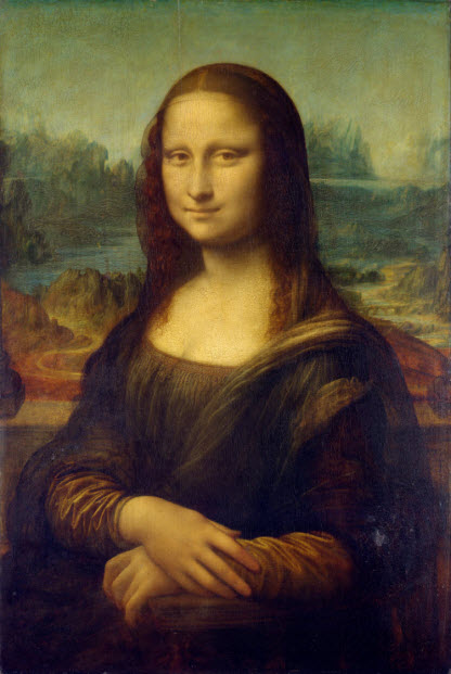 Mona Lisa Leonardo da Vinci smiling virus good for you