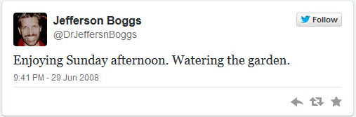 DrJeffersnBoggs first tweet