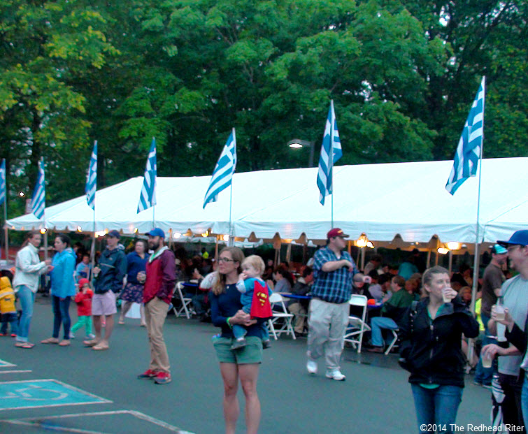 Eating 39th Annual Richmond Greek Festival