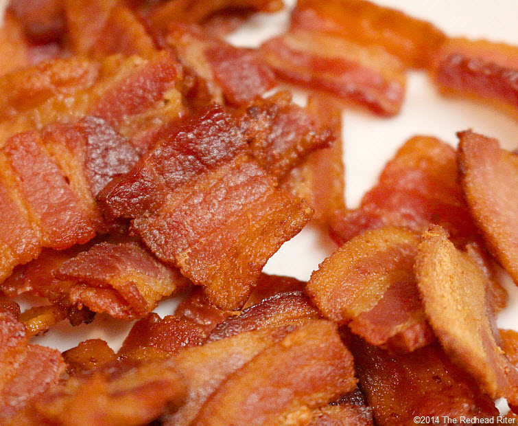 09 browned bacon pieces