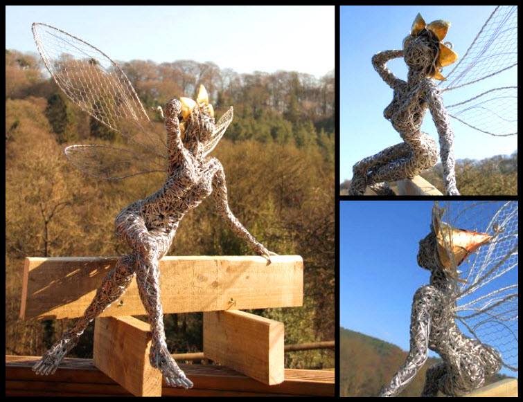 Fantasywire Robin Wight wire fairy poser