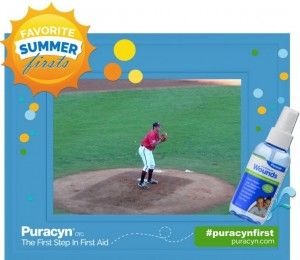 My Accident And First Aid With Puracyn® Wound & Skin Care Solution
