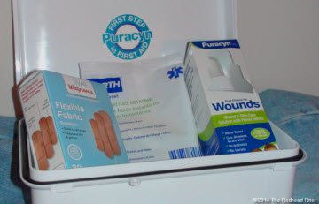 Thumbnail image for My Accident And First Aid With Puracyn® Wound & Skin Care Solution