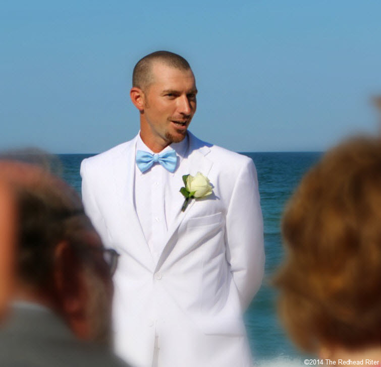 2 groom Outer Banks Beach Wedding