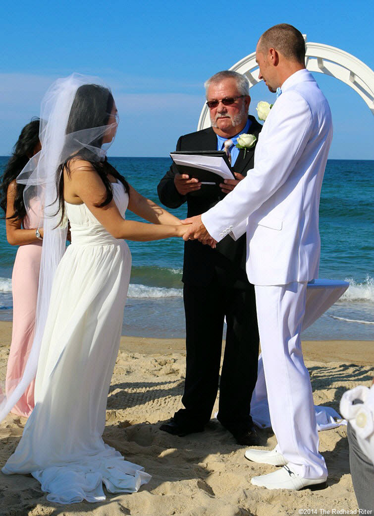 6 vows Outer Banks Beach Wedding 1