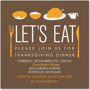 Chuckle Of The Day – Grandma's Thanksgiving Invitation