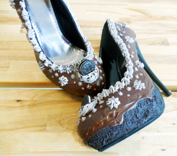 Chocolate Heels Wear Shoes Shoe Bakery Sweet Treats2