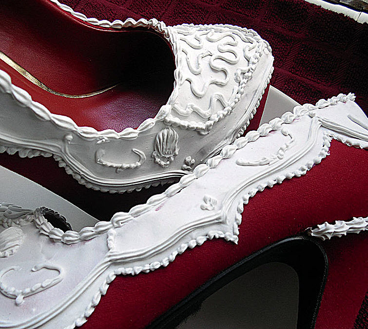 Red Velvet Pumps Wear Shoes Shoe Bakery Sweet Treats2