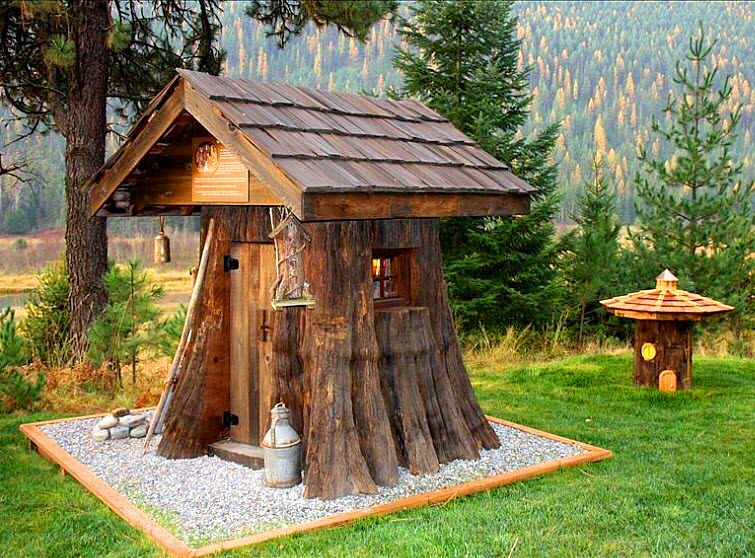 The Shire Of Montana - Real Hobbit House In MT 6