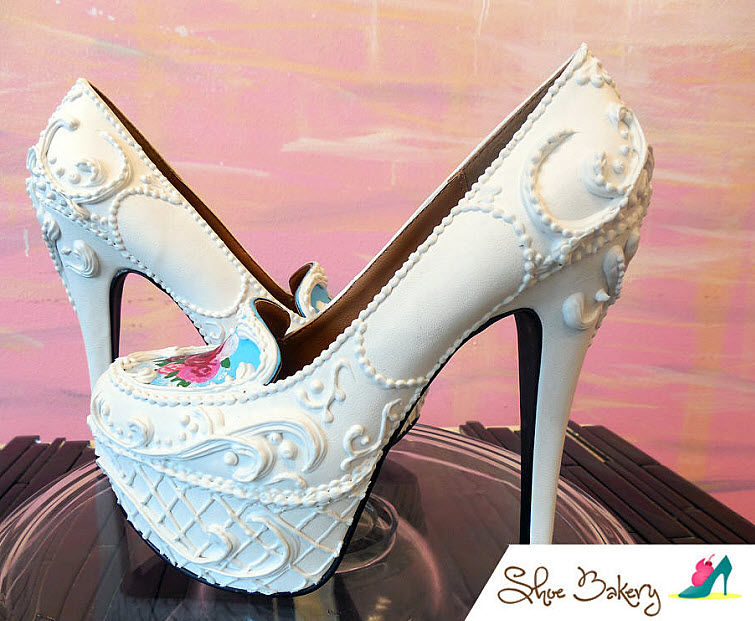 Victorian Cake Heels Wear Shoes Shoe Bakery Sweet Treats