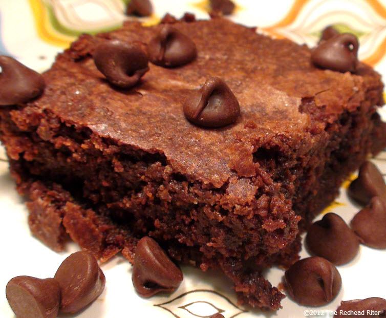 Yummy Chewy Fudge Brownie