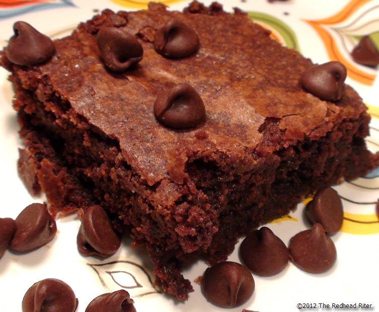 Chewy Fudge Brownie Recipe