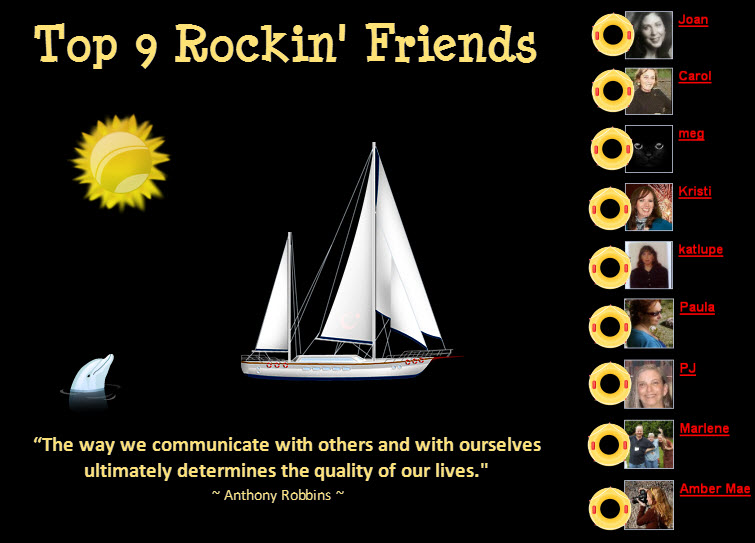 Top 9 Rockin' Friends