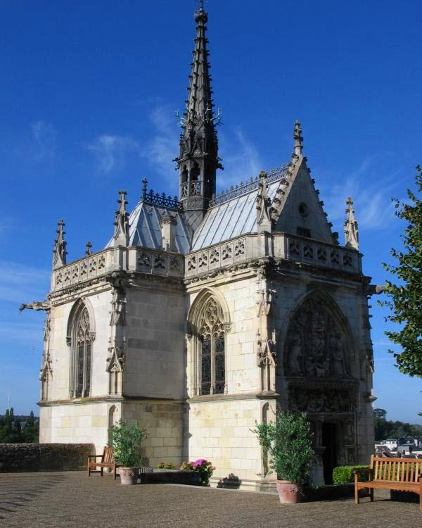 Chapel Saint-Hubert Château d'Amboise