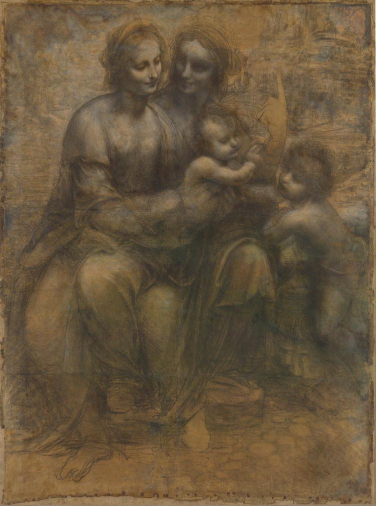 Virgin Child St Anne John the Baptist