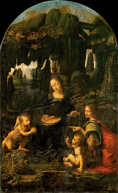 Virgin of the Rocks Leonardo_da_Vinci