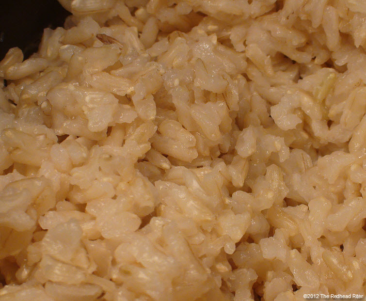 brown cooked long grain rice 2