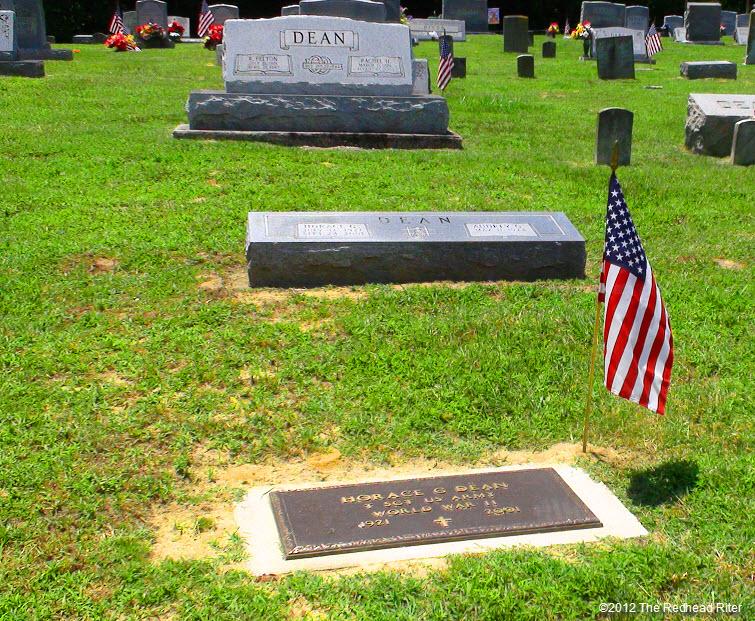 Dean family gravestones Williamsburg Virginia