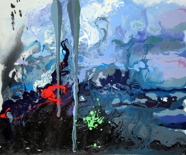 Joan Marie Acrylic Art Glycerine
