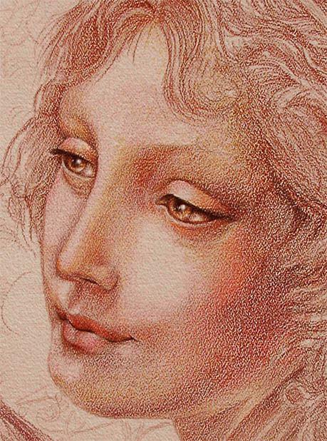 Joan Marie Acrylic Art Guinevere