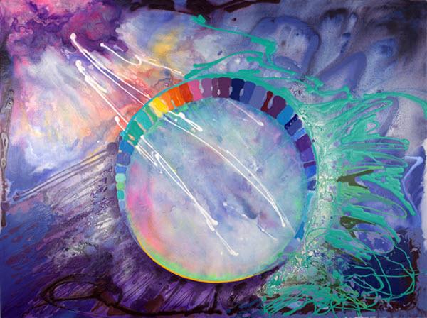 Joan Marie Acrylic Art Oogenisis