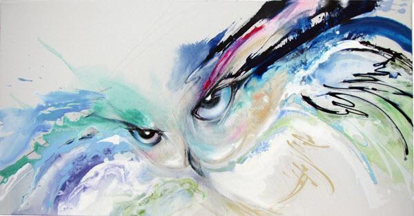Joan Marie Acrylic Art OwlWeb