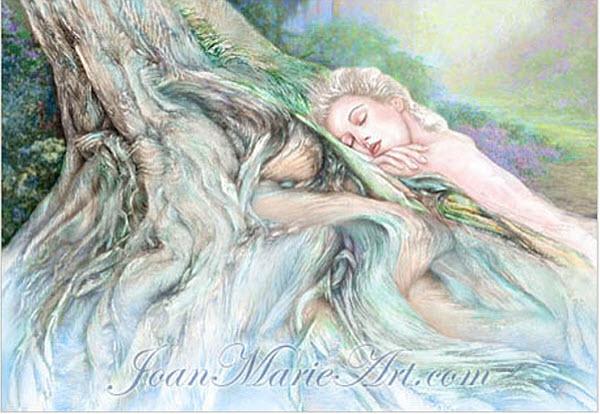 Joan Marie Mixed Media Art Tranquility