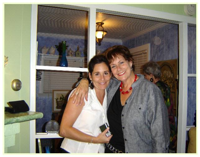 Joyce and Karen