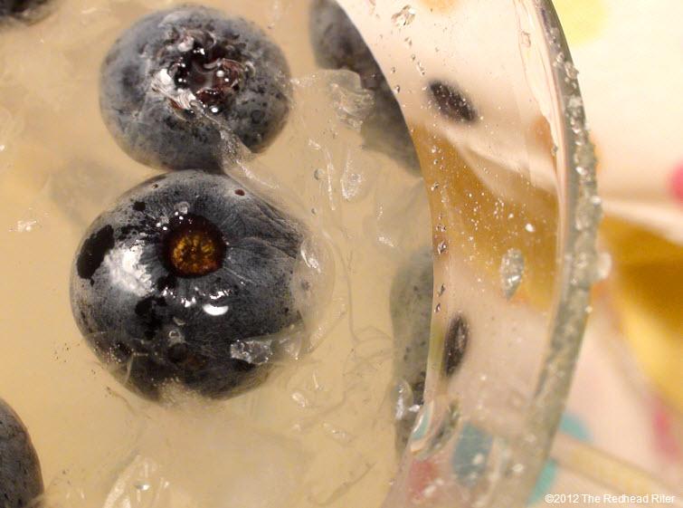 cold homemade lemonade blueberry glass 1