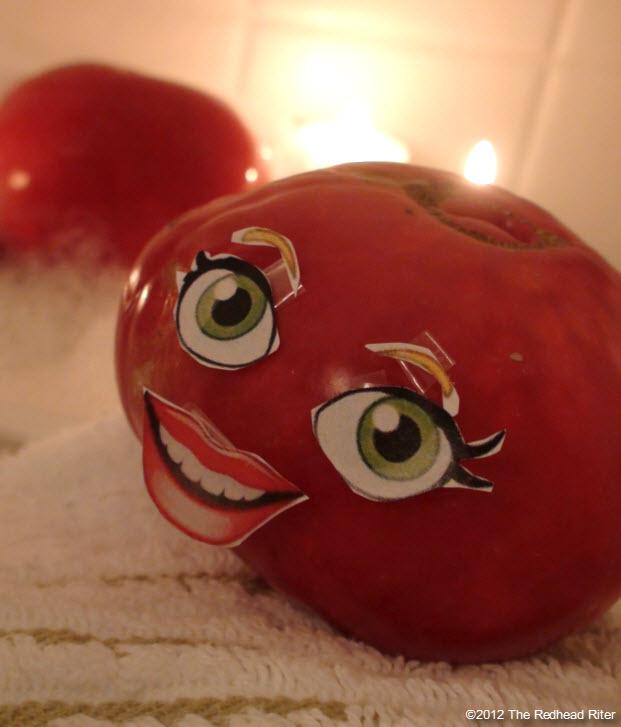 naked tomato couple bubble bath 6