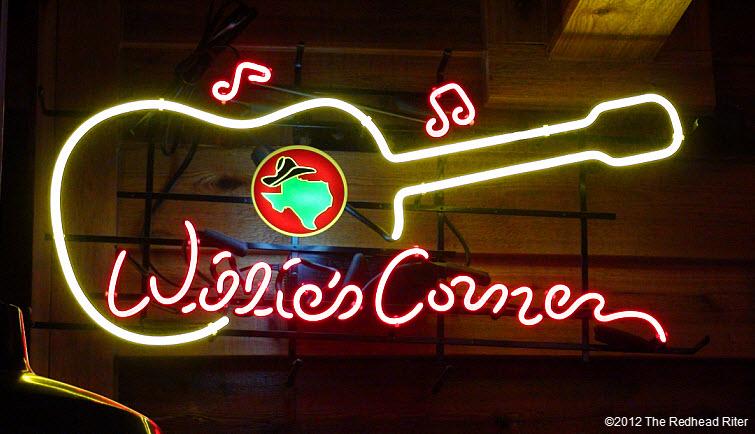 neon guitar in restaurant 1
