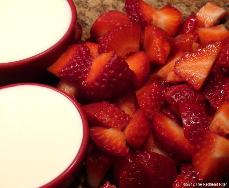perfect strawberry milkshake red strawberries