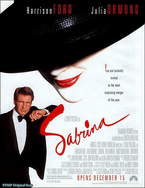 sabrina harrison ford julia ormond movie cover