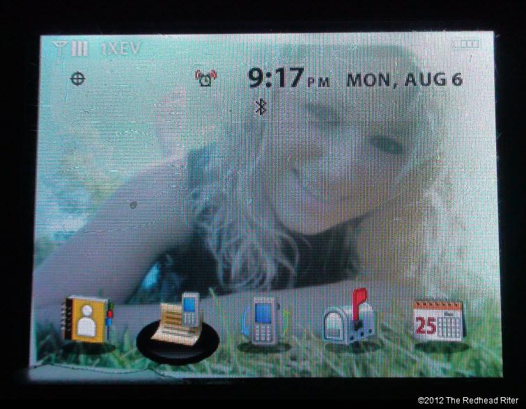 Alyssa as my cell phone wallpaper