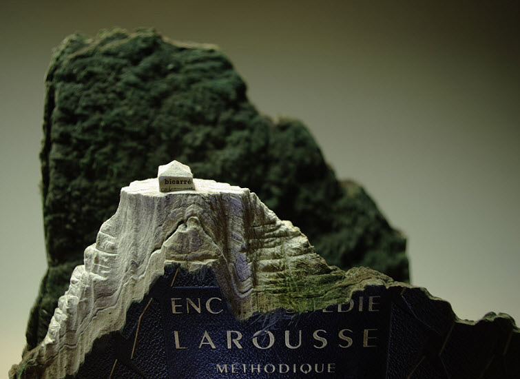 Guy Laramee Transforms Books Into Landscapes 5