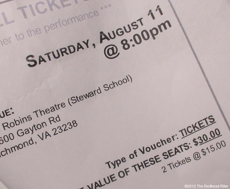 Joseph Technicolor Dreamcoat musical Richmond Virginia 2