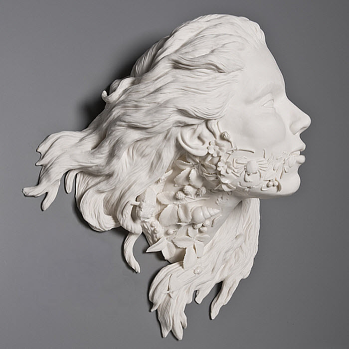 Kate MacDowell porcelain invasive flora