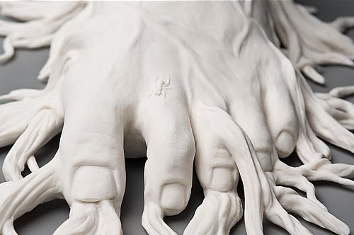 Kate MacDowell porcelain migrant_detail