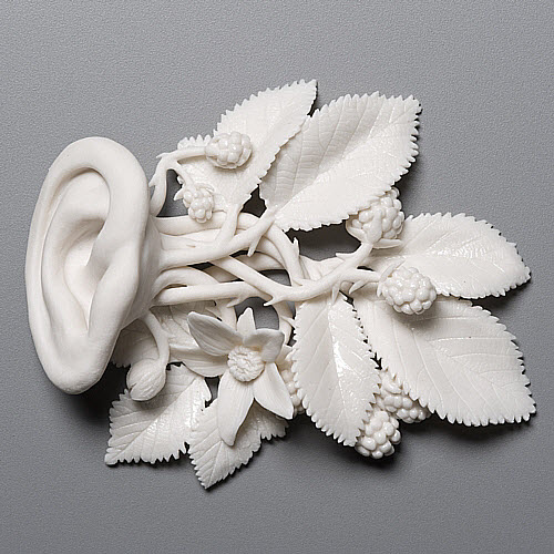 Kate MacDowell porcelain taking root