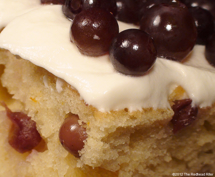 champagne grape cake cream cheese icing 18