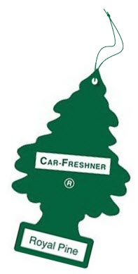 christmas tree car air freshener
